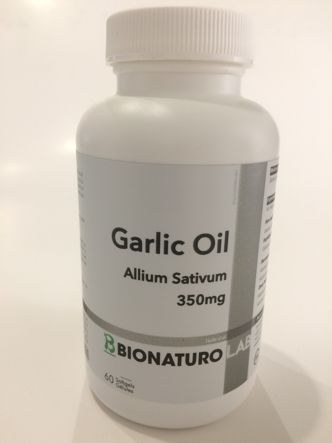 Garlic Oil Allium Sativum