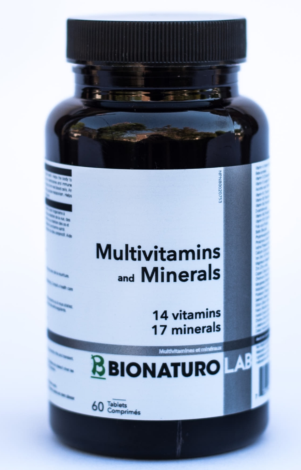 Multivitamins & Minerals 14/17